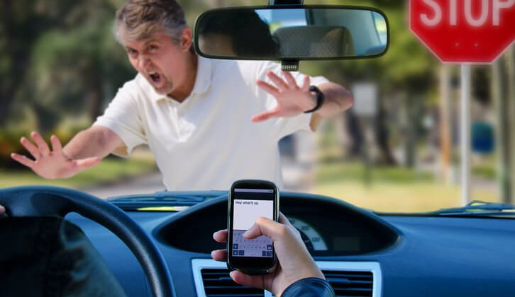 Risk of using mobile phone while driving